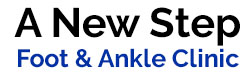 A  New Step  Foot & Ankle Clinic Logo